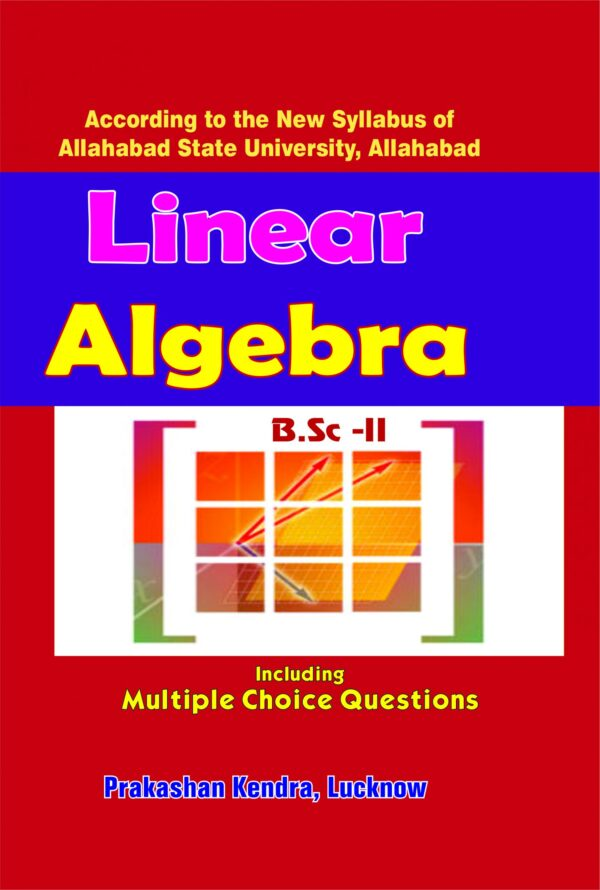 Cover Page Linear Algebra