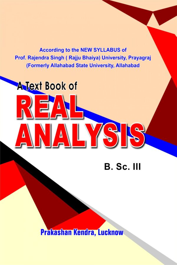 Cover Page Real Analysis