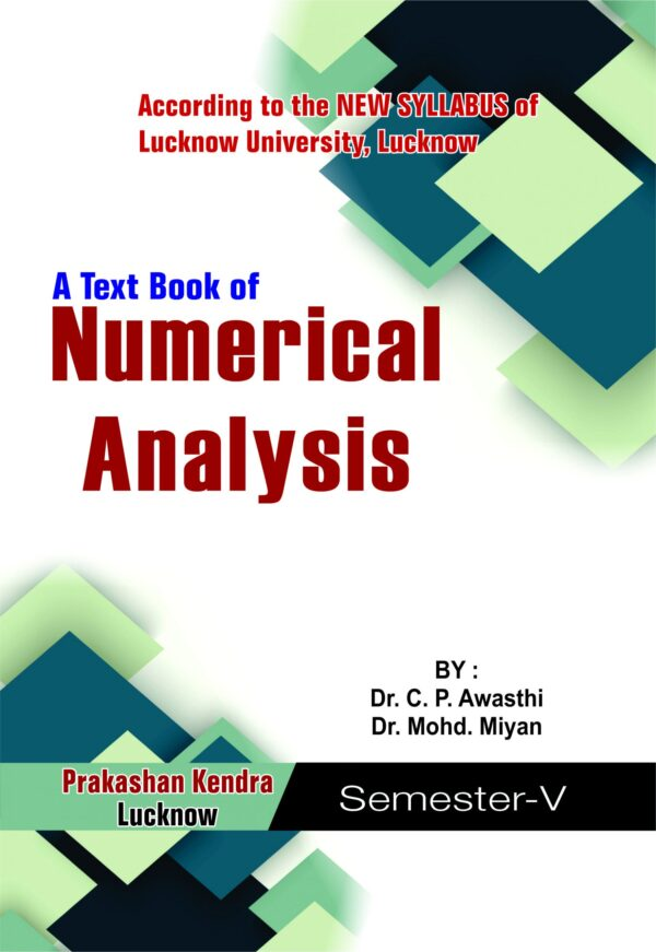 A Text Book Of Numerical Analysis